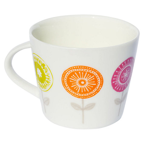 Buy Scion Lollipop Mug, 0.35L, Pink & Orange Online at johnlewis.com