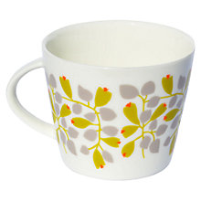 Buy Scion Rosehip Mug, 0.35L, Charcoal & Lime Online at johnlewis.com