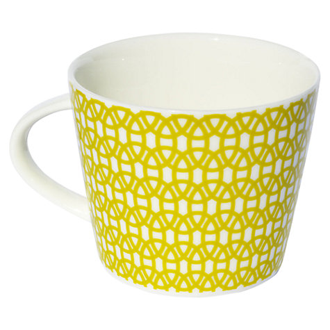Buy Scion Lace Mug, 0.35L, Lime Online at johnlewis.com