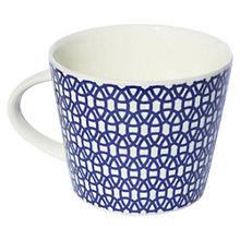 Buy Scion Lace Mug, 0.35L, Indigo Online at johnlewis.com