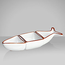 Buy John Lewis Al Fresco Three Part Fish Serving Dish Online at johnlewis.com