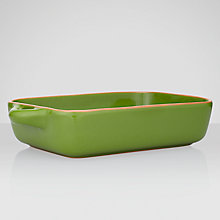 Buy John Lewis Al Fresco Rectangle Baker, Green Online at johnlewis.com