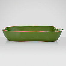 Buy John Lewis Al Fresco Green Pepper Bowl, 40 x 23cm Online at johnlewis.com