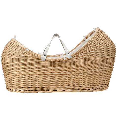 Buy John Lewis Heritage Wicker Moses Basket Online at johnlewis.com