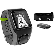 Buy TomTom Multi-Sport HRM GPS Watch Online at johnlewis.com