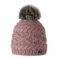 Buy Barts Claire Beanie, One Size, Pink Online at johnlewis.com