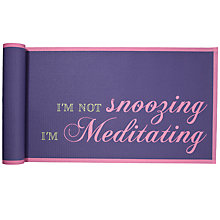 Buy John Lewis Meditating Yoga Mat, Purple/Pink Online at johnlewis.com