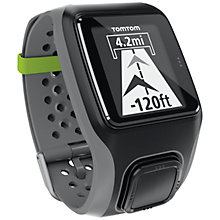 Buy TomTom Multi-Sport GPS Watch, Grey Online at johnlewis.com