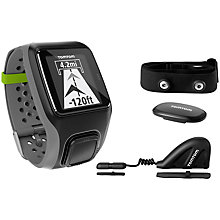 Buy TomTom Multi-Sport HRM+CSS+AM GPS Watch Online at johnlewis.com
