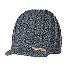 Buy Barts Liv Beanie, One Size, Dark Grey Online at johnlewis.com