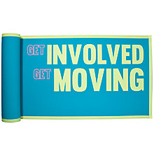Buy John Lewis Get Moving Yoga Mat Online at johnlewis.com