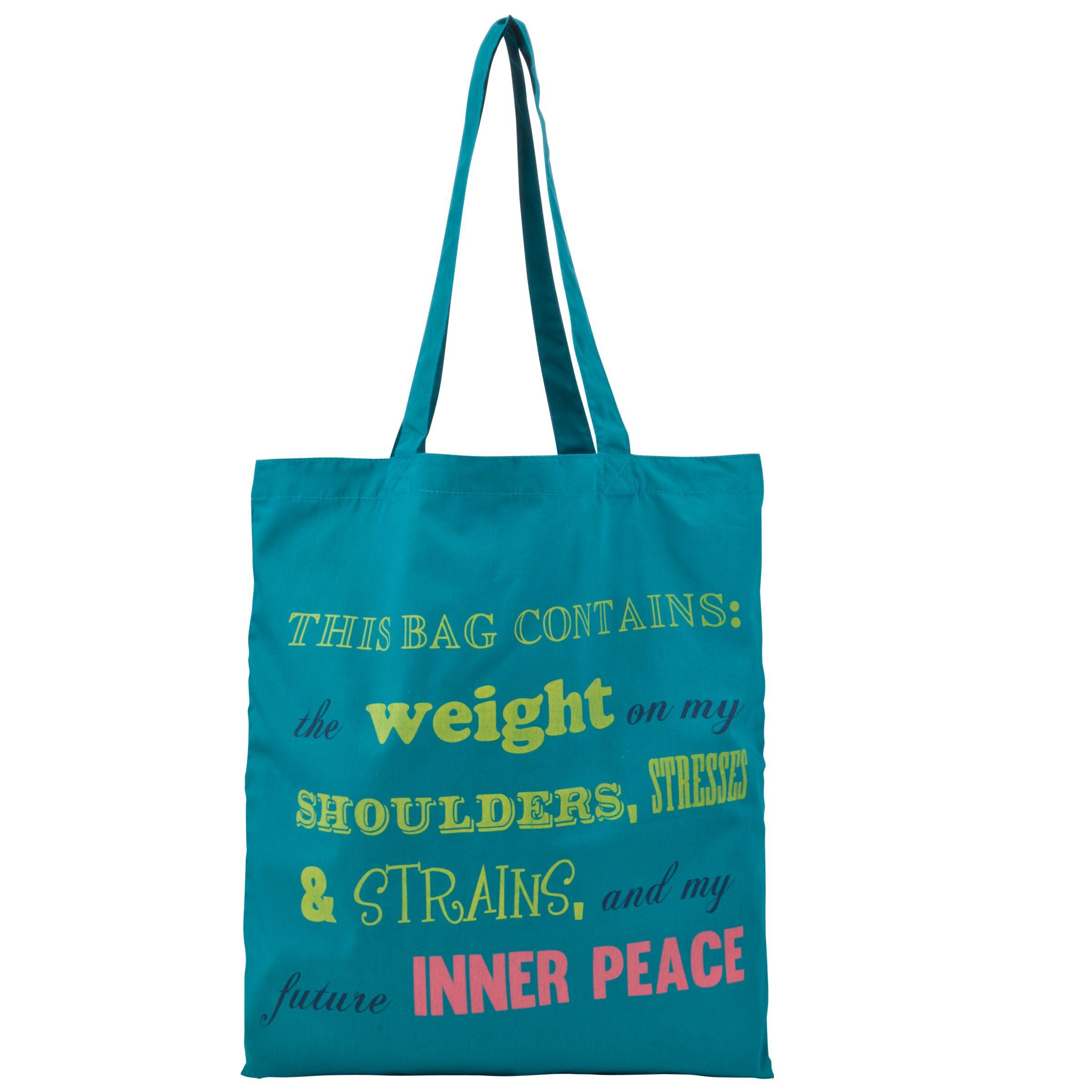 John Lewis Inner Peace Yoga Bag, Teal