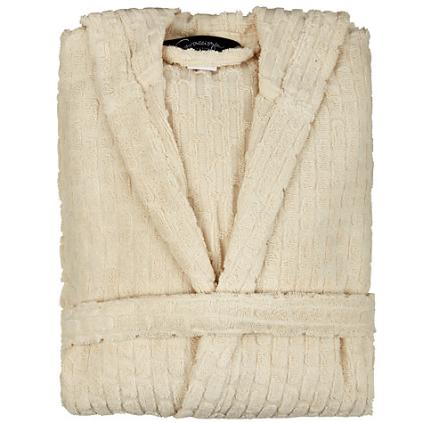 Buy Graccioza Brick Unisex Bathrobe Online at johnlewis.com