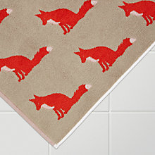 Buy Anorak Proud Fox Bath Mat Online at johnlewis.com