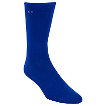 Buy Calvin Klein Colour Block Socks, Blue Online at johnlewis.com