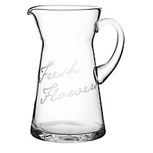 Buy John Lewis Fresh Flowers Jug Vase Online at johnlewis.com