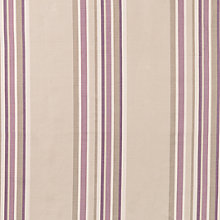 Buy Maggie Levien for John Lewis Cordelia Stripe Curtain, Aubergine Online at johnlewis.com
