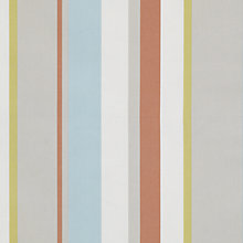 Buy John Lewis Finlay Stripe Curtain, Autumn Online at johnlewis.com
