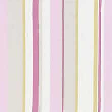 Buy John Lewis Finlay Stripe Curtain, Soft Pink Online at johnlewis.com
