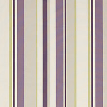 Buy John Lewis Finlay Stripe Curtain, Cassis Online at johnlewis.com