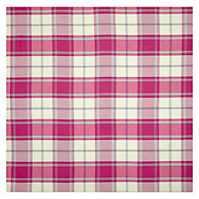 Buy John Lewis Harrow Check Curtain, Pink Online at johnlewis.com