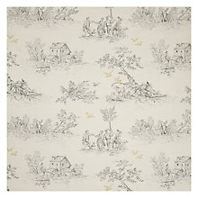 Buy John Lewis Leckford Toile Curtain, Graphite Online at johnlewis.com