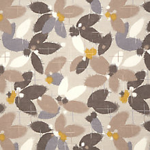 Buy John Lewis Sakura Curtain, Taupe Online at johnlewis.com