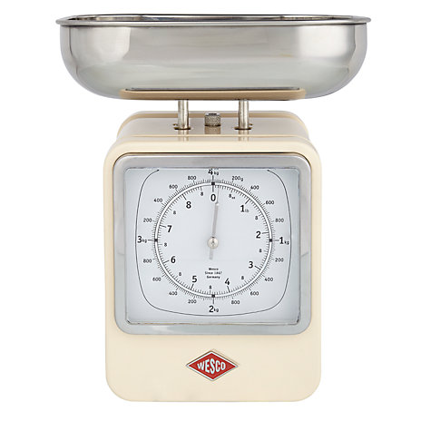 Buy Wesco Steel Retro Kitchen Scale Online at johnlewis.com