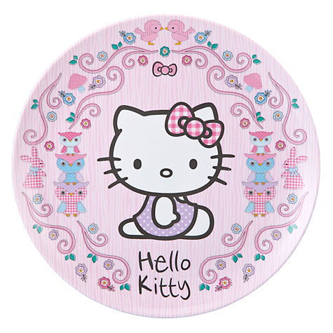 Buy Hello Kitty Woodland Plastic Table Set Online at johnlewis.com