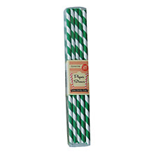 Buy Eddingtons Striped Paper Straws, Pack of 25 Online at johnlewis.com