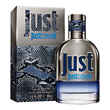 Buy Roberto Cavalli Just Cavalli for Men Eau de Toilette Online at johnlewis.com
