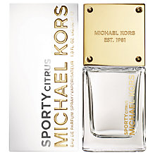 Buy Michael Kors Sporty Citrus Eau de Parfum, 30ml Online at johnlewis.com