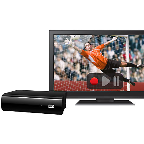 Buy WD My Book AV-TV, External Hard Drive for Recordable TVs, 1TB Online at johnlewis.com