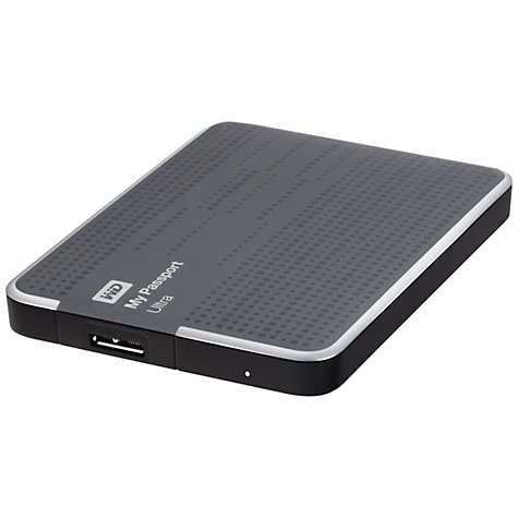 Buy WD My Passport Ultra Portable Hard Drive, USB 3.0, 1TB, Metal Online at johnlewis.com