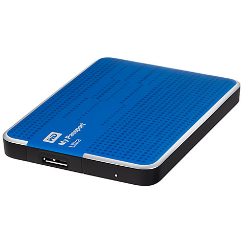 Buy WD My Passport Ultra Portable Hard Drive, USB 3.0, 500GB Online at johnlewis.com