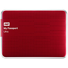 Buy WD My Passport Ultra Portable Hard Drive, USB 3.0, 1TB Online at johnlewis.com