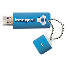 Buy Integral Splash Shock & Water Resistant USB Flash Drive, 16GB Online at johnlewis.com