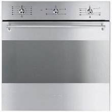 Buy Smeg SF341GVX Gas Oven, Stainless Steel Online at johnlewis.com