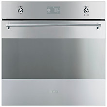 Buy Smeg SFP390X Single Electric Oven, Stainless Steel Online at johnlewis.com