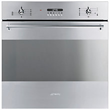 Buy Smeg SF372X Single Electric Oven, Stainless Steel Online at johnlewis.com