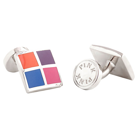 Buy Thomas Pink Four Panel Cufflinks Online at johnlewis.com