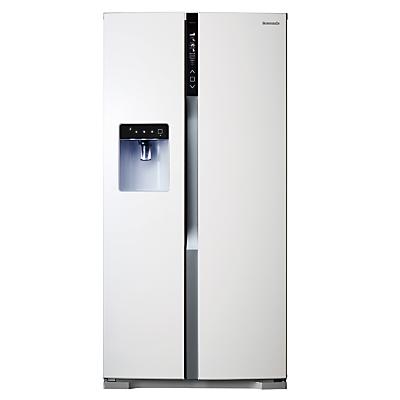 Panasonic NR-B53VW2 American Style Fridge Freezer, White