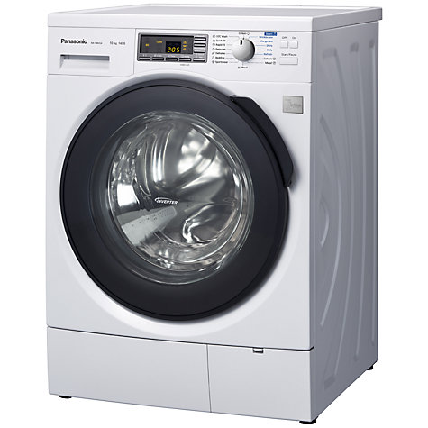 Buy Panasonic NA-140VS4WGB Washing Machine, 10kg Load, A+++ Energy Rating, 1400rpm Spin, White Online at johnlewis.com