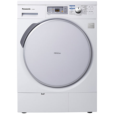 Buy Panasonic NH-P80S1WGB Heat Pump Condenser Tumble Dryer, 8kg Load, A++ Energy Rating, White Online at johnlewis.com