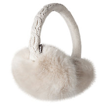 Buy Barts Faux Fur Earmuffs Online at johnlewis.com