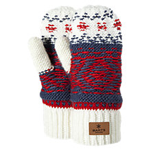 Buy Barts Fedde Fair Isle Mittens Online at johnlewis.com