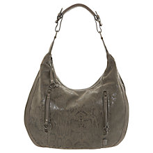 Buy Mint Velvet Snakeskin Leather Hobo Bag Online at johnlewis.com