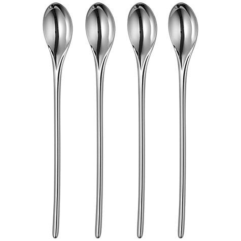 Buy Robert Welch Bud Long Handled Teaspoon, Set of 4 Online at johnlewis.com