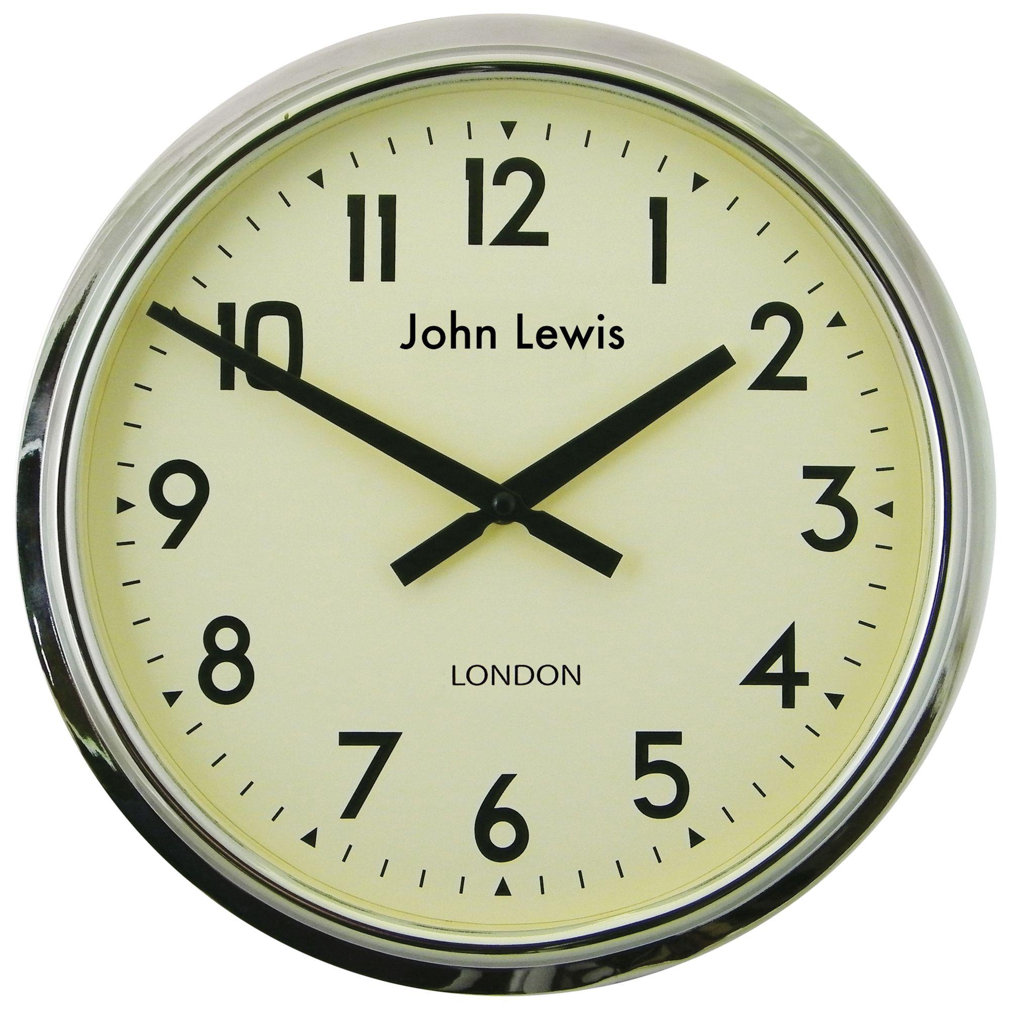 Lascelles Lascelles Personalised Case Clock, Dia.37cm