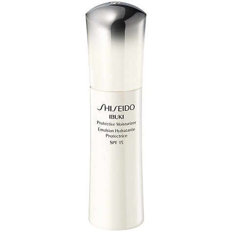 Buy Shiseido Ibuki Protective Moisturiser SPF 18, 75 ml Online at johnlewis.com